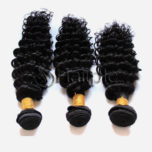 brazilian hair Brazilian weave hair extensions peruvian hair brazilian weave for sale Brazilian curly hair bundles + frontal Hairple